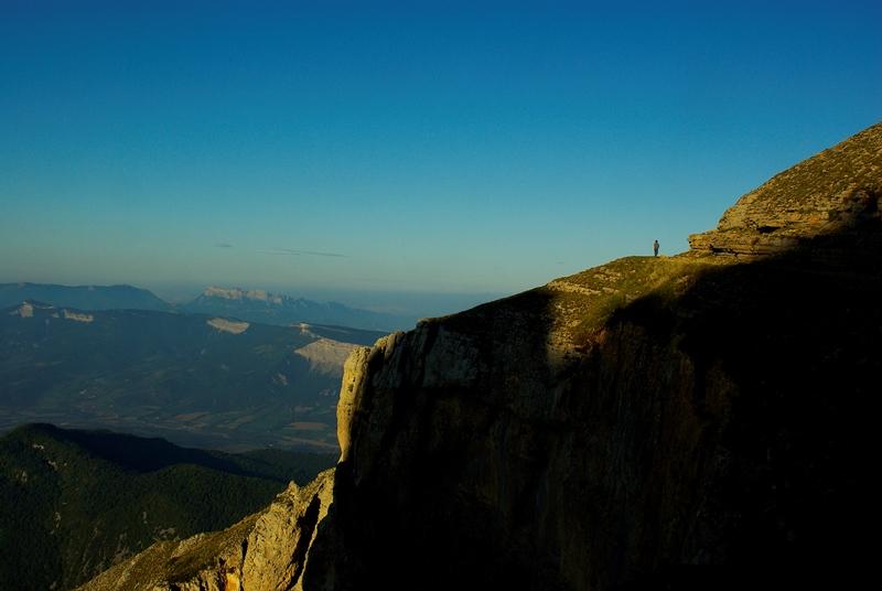 Randonnée sur la montagne de Glandas