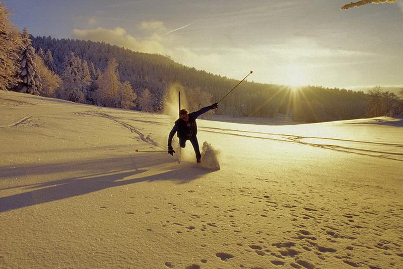 Ski de fond à la Trompe