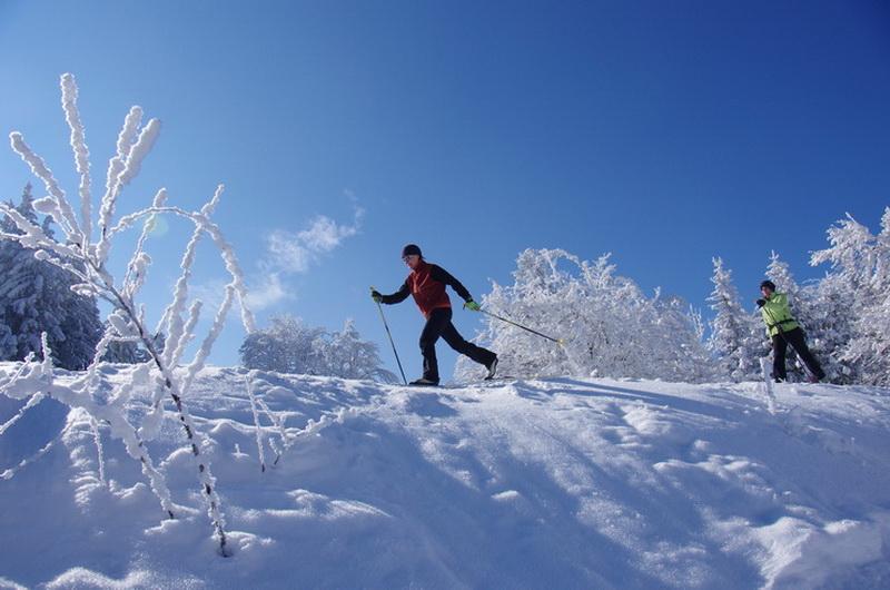 ski de fond hors piste loisir