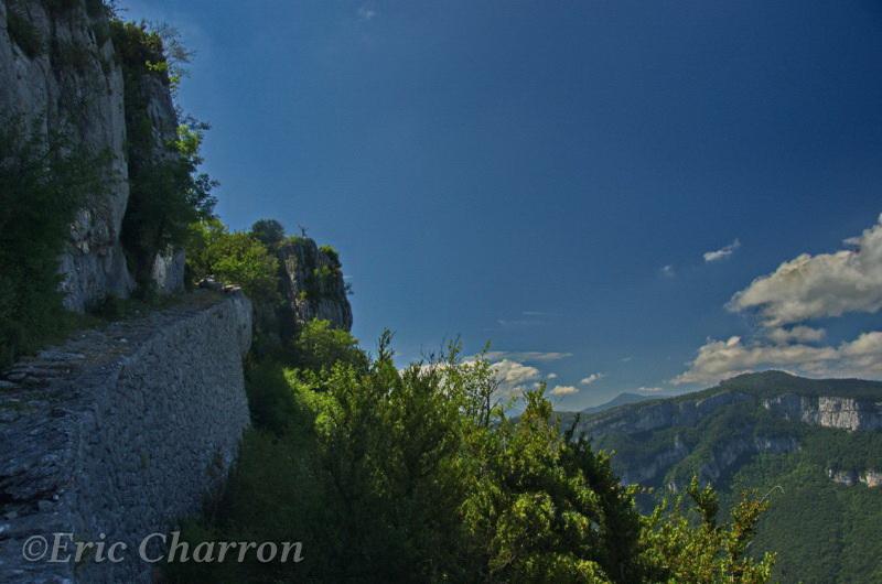 Le pas de l'Allier , commune de Saint Martin en Vercors