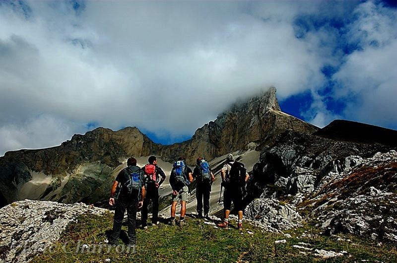 Le Rocher Rond, sommet de la Drôme et du Parc Naturel Régional du Vercorscommune de Lus la Croix Haute