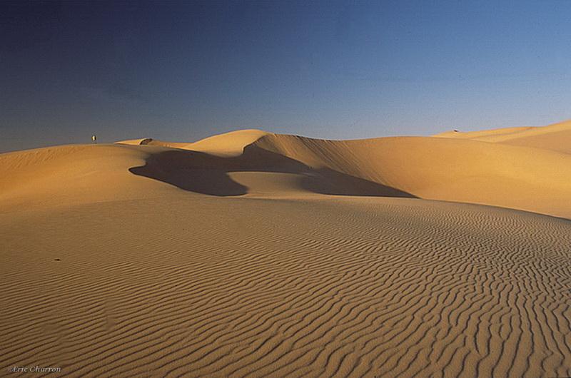 Grande mer de sable, désert lybique