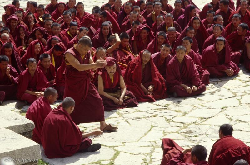 Lhassa, monastère de Sera