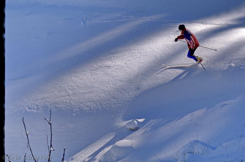 Ski de fond hors piste à font d'urle