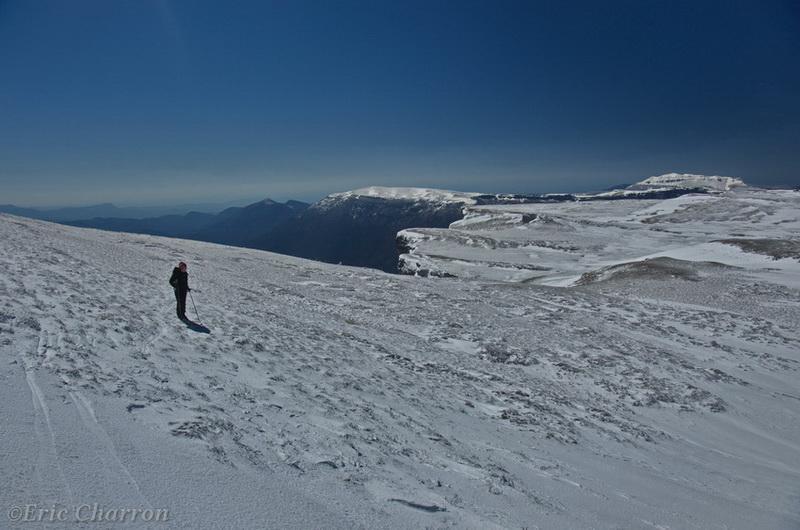 Ski de randonnée nordique à Font d'Urle