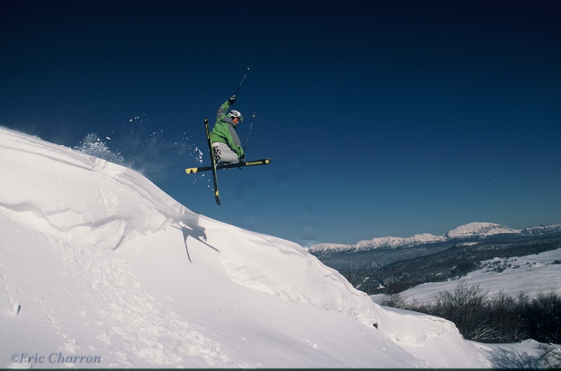 Ski dans le Vercors