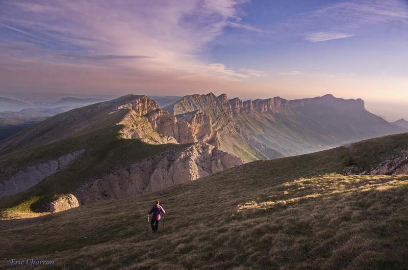 Randonnéee sur les Hauts Plateaux du Vercors