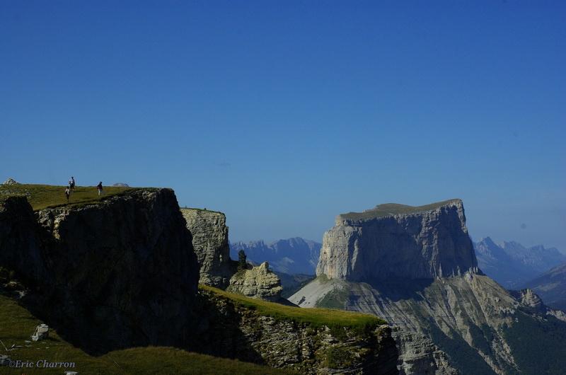 La tête Chevalière et le Mont Aiguille