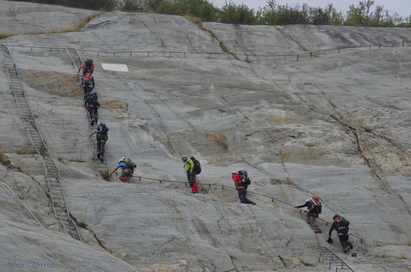 Les échelles du Montenver