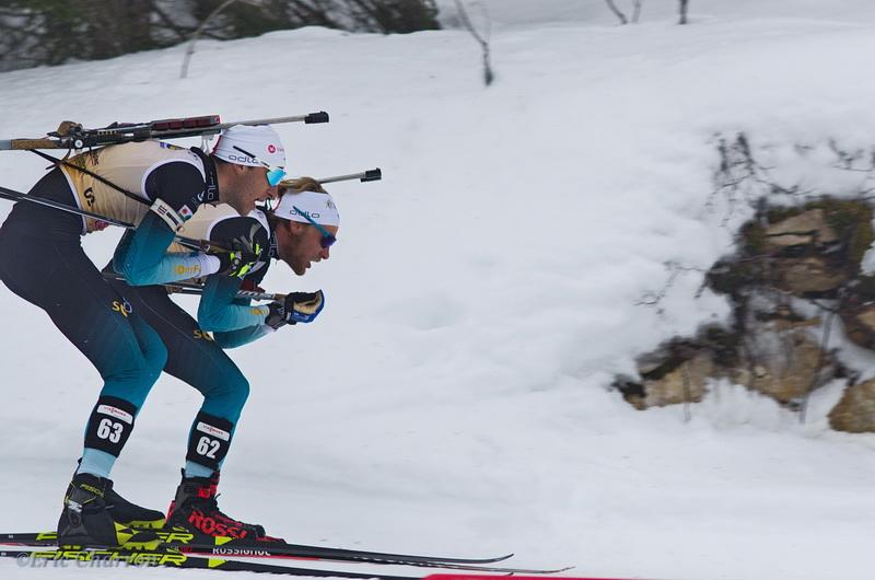 biathlon dans le vercors