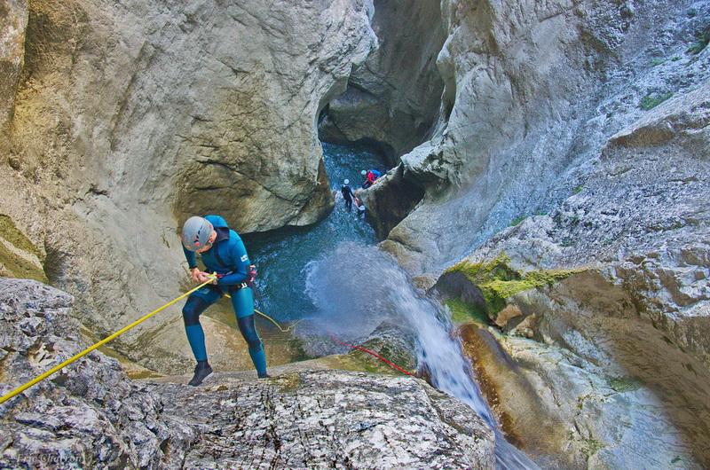 Partie Haute du Canyon des écouges