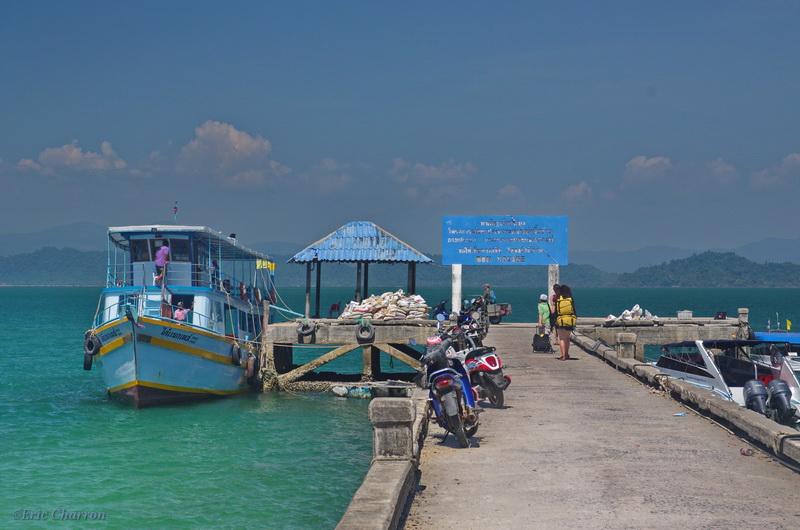 Thaîlande mer d'Andaman