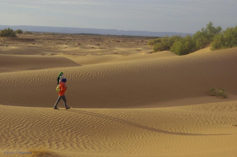 désert et oasis du maroc en famille