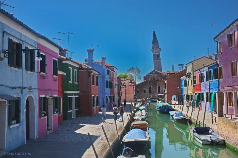 Lagune de Venise, Burano