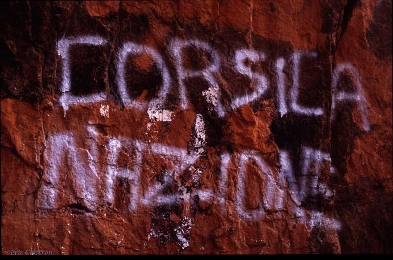 Graffiti nationaliste